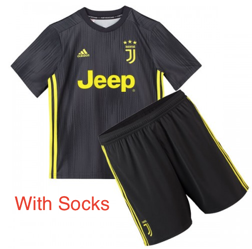 Juventus  | Kids | Third Kit 18/19