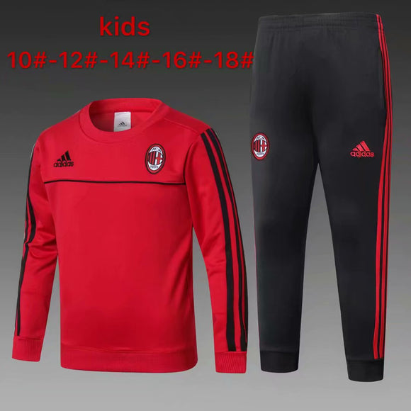 AC Milan | Red Kids Training Top + Pants 17/18