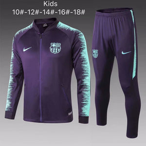 Barcelona | Purple Type B | Kids Training Tracksuit 18/19