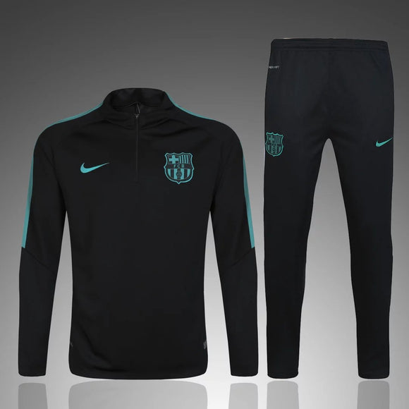 Barcelona | Black Type A Training Top + Pants 16/17