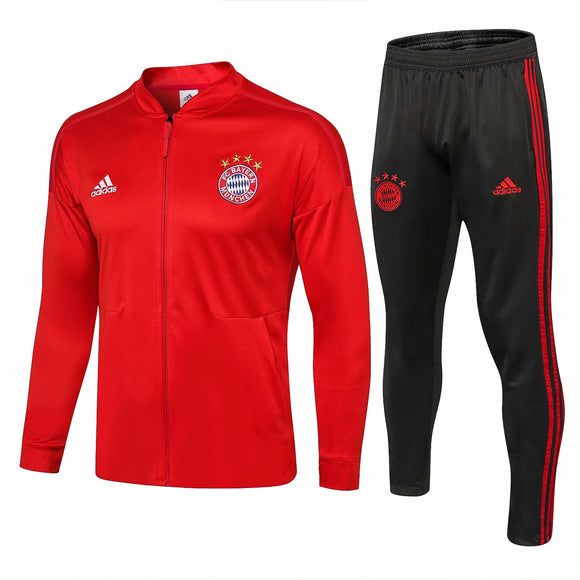 Bayern | Red Training Tracksuit 18/19
