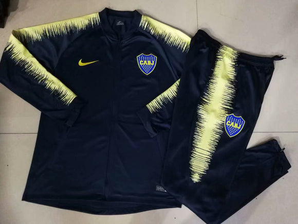 Boca Juniors | Dark Blue Type B Training Tracksuit 18/19