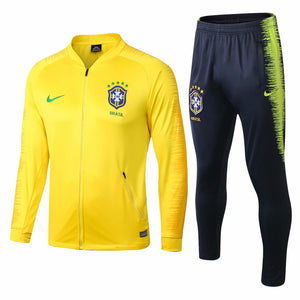 Brazil | Yellow Training Tracksuit 18/19