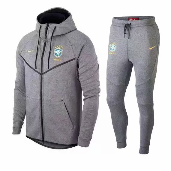 Brazil | Hoodie Jacket + Pants Training Suit 18/19