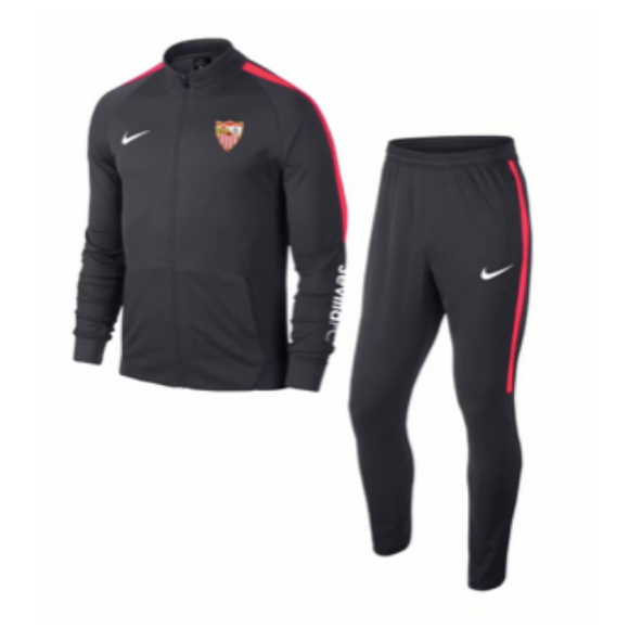 Sevilla Fútbol Club | Black Training Tracksuit 18/19
