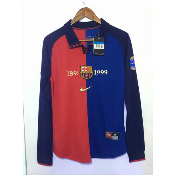Barcelona 1999 Centennial Home  | Special 18/19 | Long Sleeves