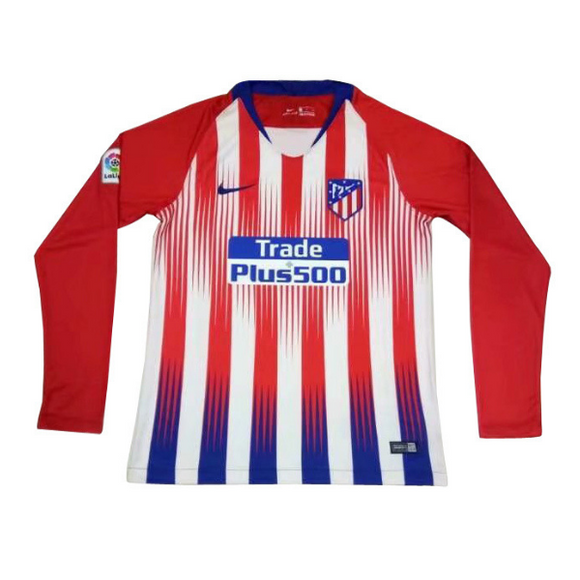 Atletico Madrid | Home Kit 18/19 | Long Sleeves