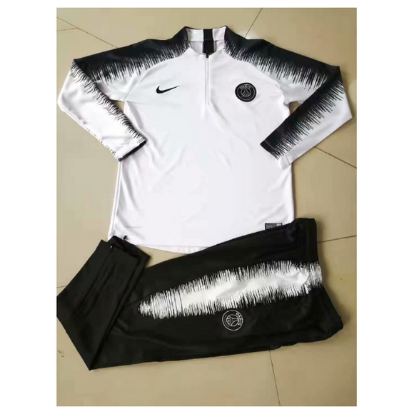 PSG | White | Training Top Type B + Pants 18/19