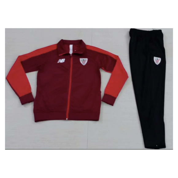 Athletic Bilbao | Red Wine Training Tracksuit 18/19