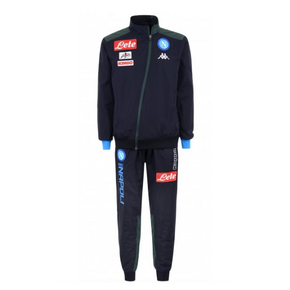 Napoli | Black Training Tracksuit 18/19
