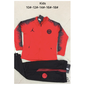 PSG | Jordan Red Type B | Kids Training Tracksuit 18/19
