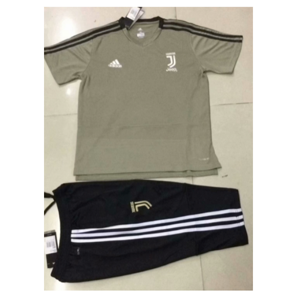 Juventus | Khaki Top + Pants Training Suit 18/19