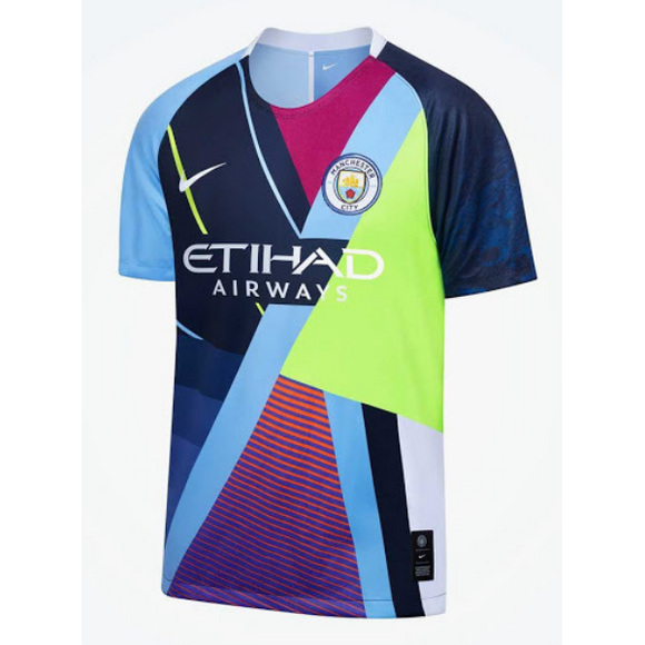 Manchester City's Nike Mashup kit