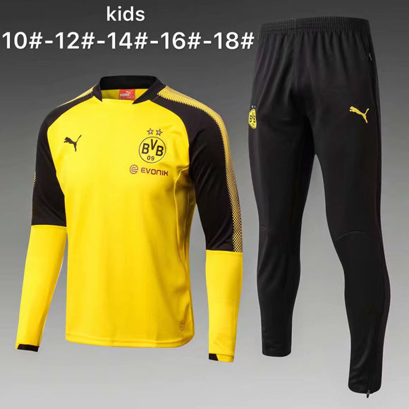 Dortmund | Yellow Kids Training Top + Pants 17/18
