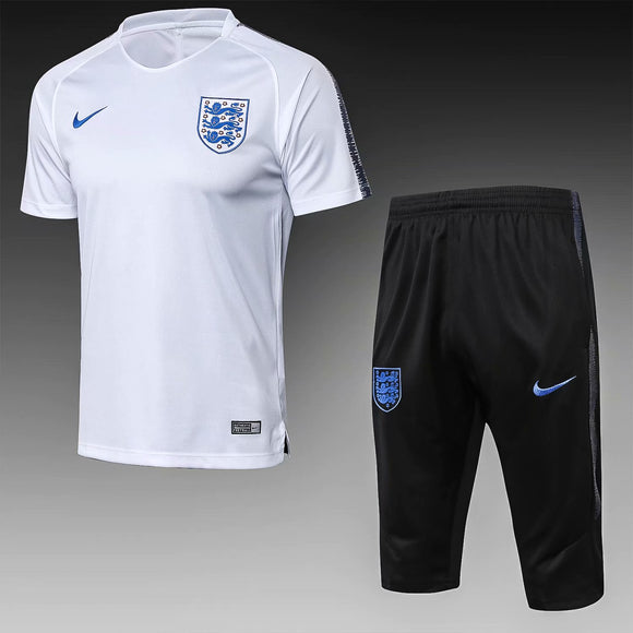 England | White Short Training Suit 18/19