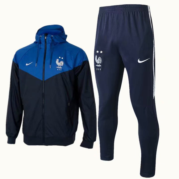 France | Windbreaker Jacket + Pants Training Suit 18/19