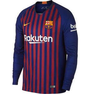 Barcelona | Home Kit 18/19 | Long Sleeves