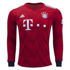 Bayern | Home Kit 18/19 | Long Sleeves