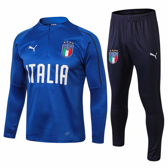 Italia  | Blue Training Top + Pants 18/19