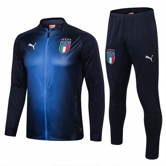 Italia | Blue Training Tracksuit 18/19
