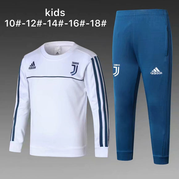 Juventus | White Kids Training Top + Pants 17/18