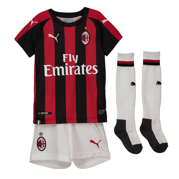 AC Milan | Kids | Home Kit 18/19