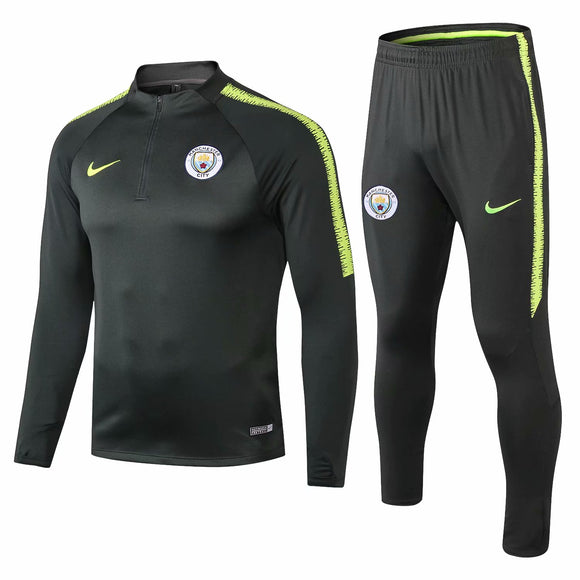 Man City| Green Type A Training Top + Pants 18/19