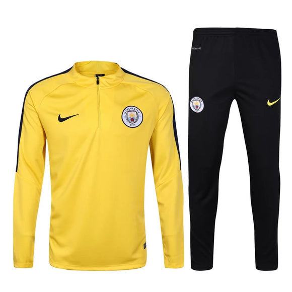 Man City| Yellow Type A Training Top + Pants 16/17