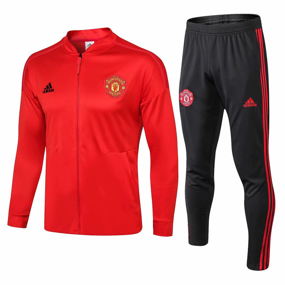 Man Utd | Red | Training Tracksuit 18/19