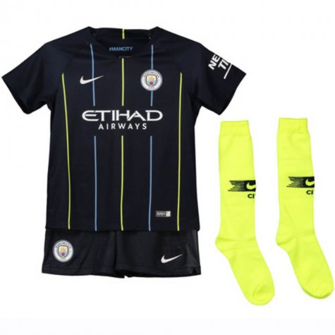 Man City | Kids | Away Kit 18/19