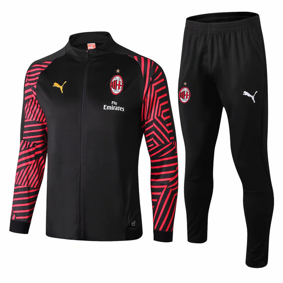 AC Milan | Black Training Tracksuit 18/19
