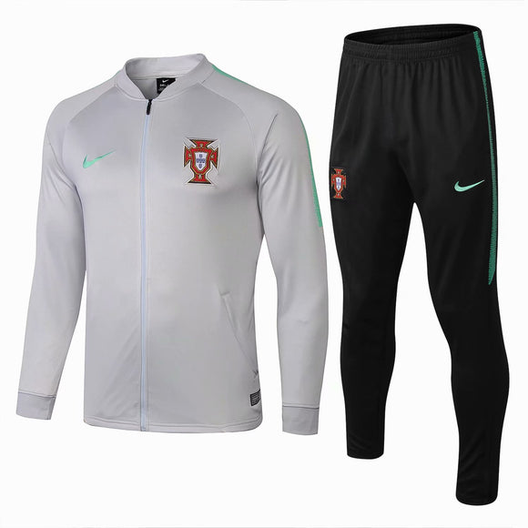 Portugal  | Light Grey Type A Training Tracksuit 18/19