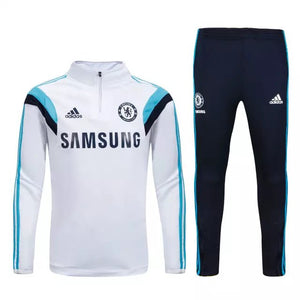 Chelsea | White Training Top + Pants 16/17