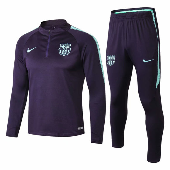 Barcelona | Purple Type A | Training Top + Pants 18/19