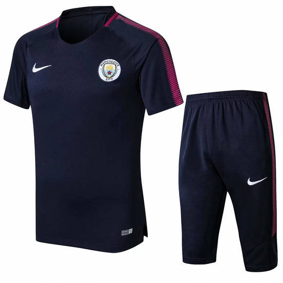 Man City | Blue Short Training Suit 17/18
