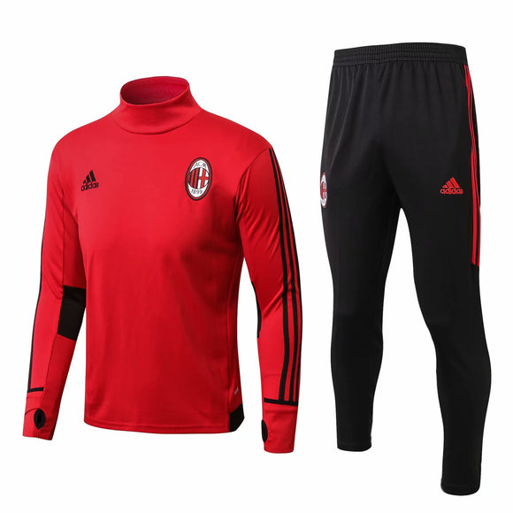 AC Milan | Red Training Top + Pants 17/18