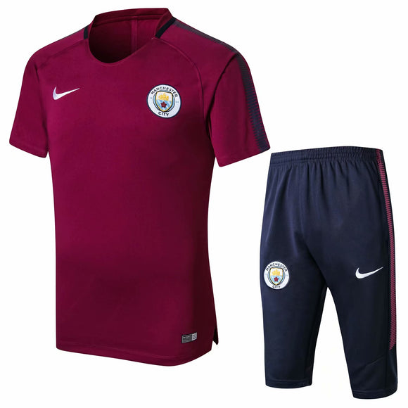 Man City | Purple Short Training Suit 17/18