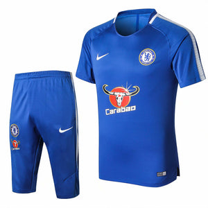 Chelsea | Blue Short Training Suit 17/18
