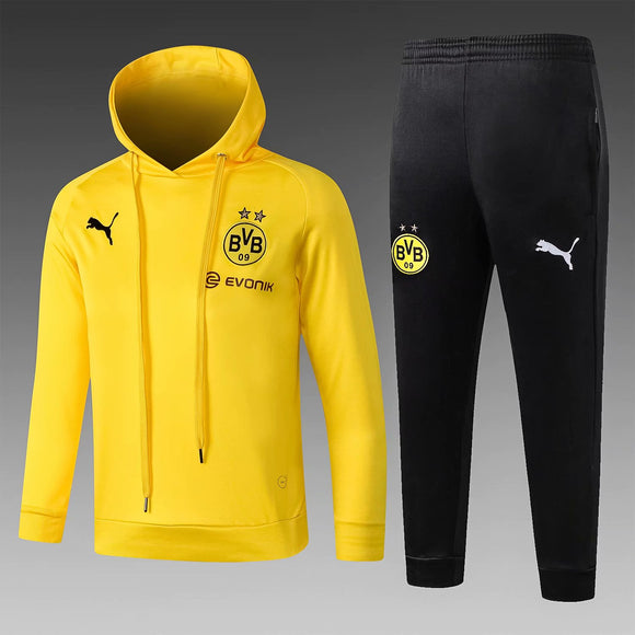 Dortmund | Kids Yellow Hoodies Sweater + Pants 18/19