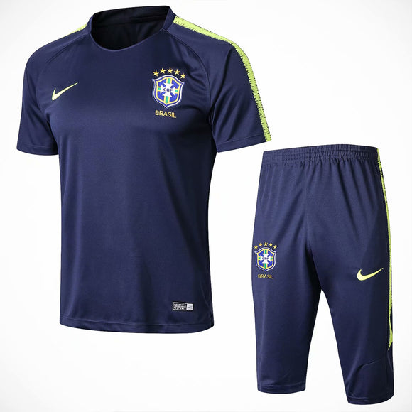 Brazil | Blue  Short Training Suit 18/19