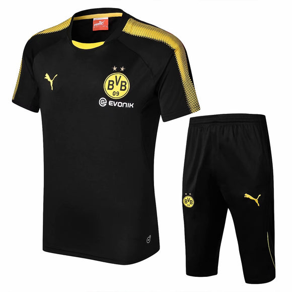Dortmund | Black Short Training Suit 17/18