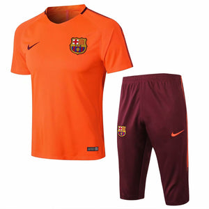 Barcelona | Orange Short Training Suit 17/18