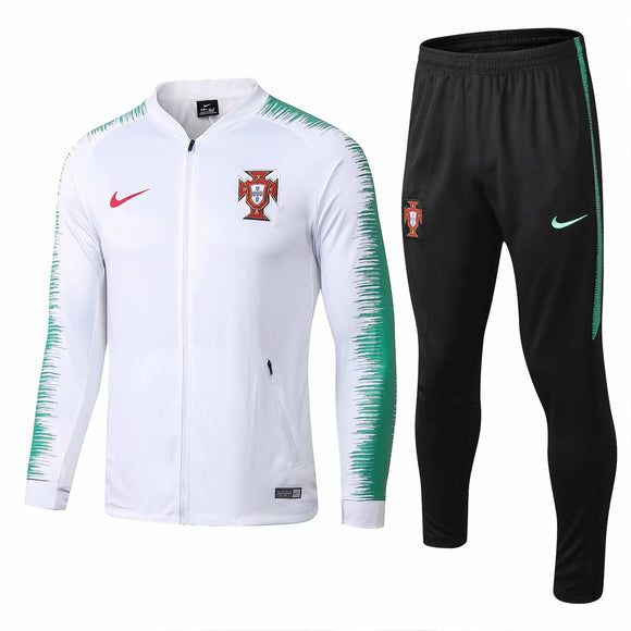 Portugal  | White Type B Training Tracksuit 18/19