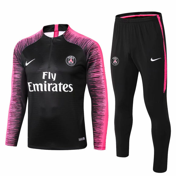 PSG | Black | Training Top Type B + Pants 18/19
