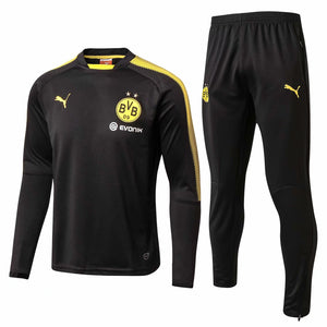 Dortmund | Black Training Top + Pants 17/18
