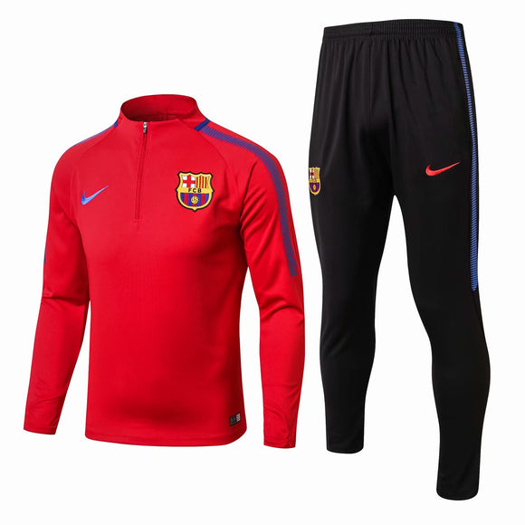 Barcelona | Red Training Top + Pants 17/18