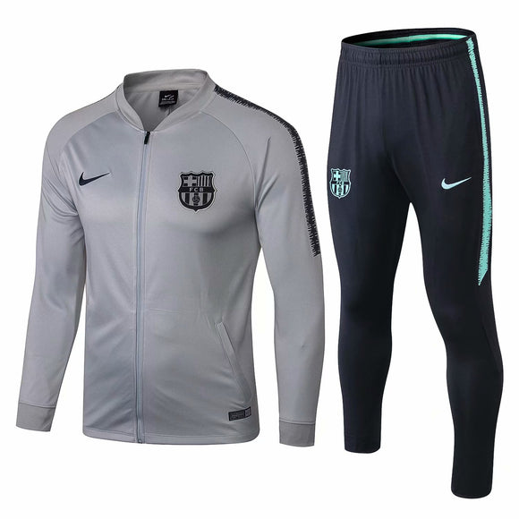 Barcelona | Light Grey | Training Tracksuit 18/19
