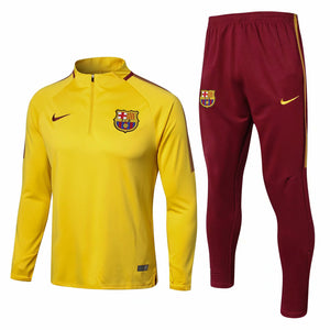 Barcelona | Yellow Training Top + Pants 17/18