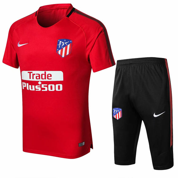 Atletico Madrid  | Red  Short Training Suit 17/18