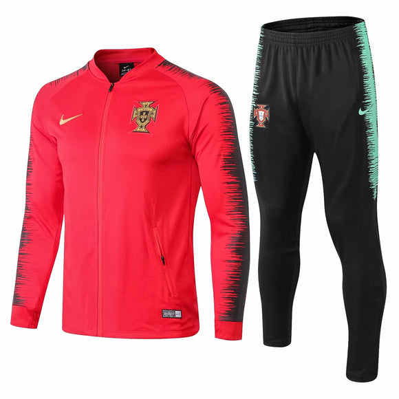 Portugal  | Red Training Tracksuit 18/19